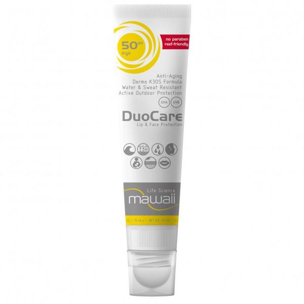 Mawaii - Duocare Facecare SPF 50 - Bescherming tegen de zon
