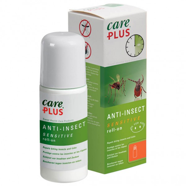 Care Plus - Anti-Insect Sensitive Roll-On - Hyttyssuoja