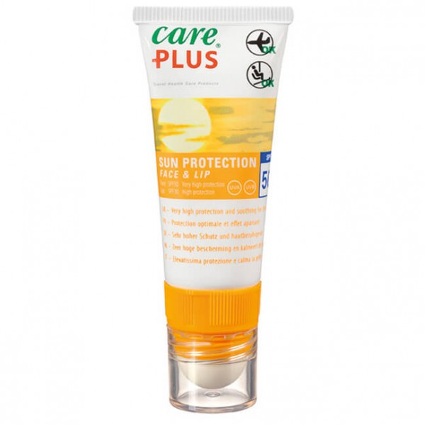 Care Plus - Sun Protection Face&Lip Spf 50 - Sonnenschutz