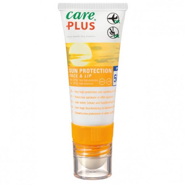 Care Plus - Sun Protection Face&Lip Spf 50