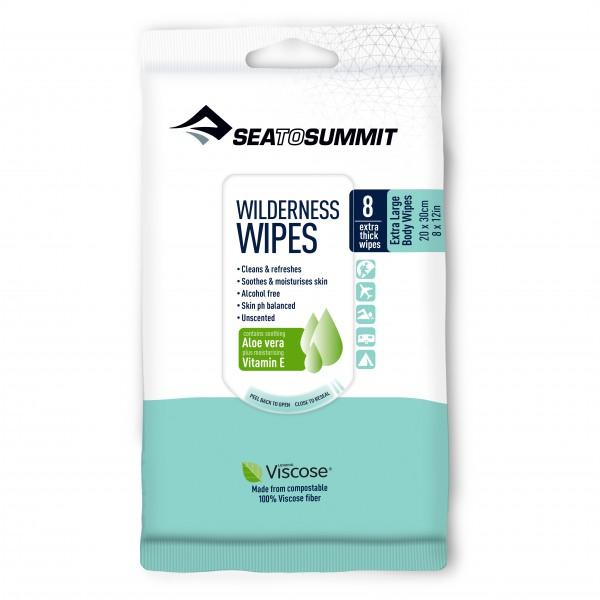 Sea to Summit - Wilderness Wipes - Körperpflege