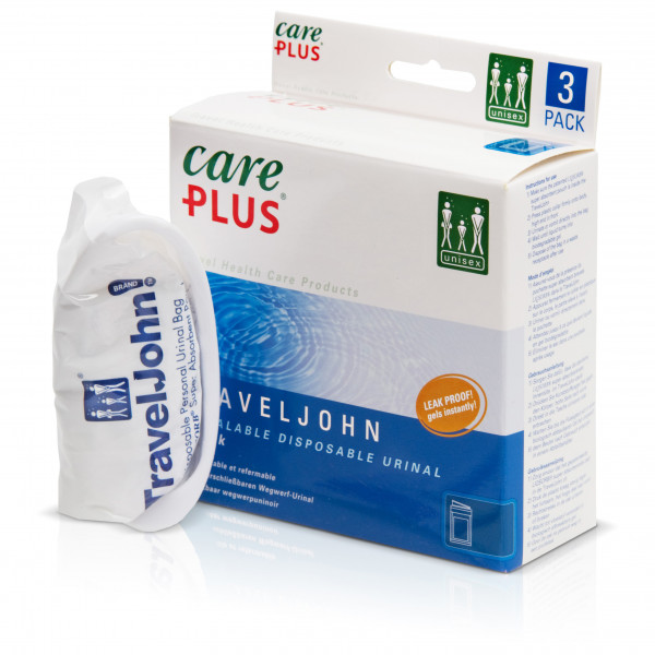 Care Plus - Travel John - Disposable Urinal - Camping toilet