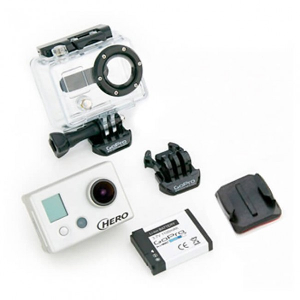 GoPro - HD Hero Naked - Helmkamera-Set