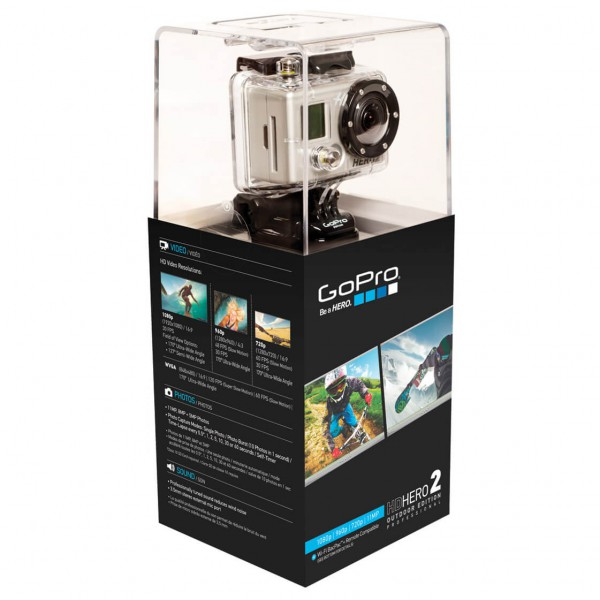 GoPro - HD Hero2 Outdoor Edition - Helmkamera-Set