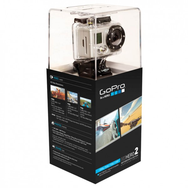 GoPro - HD Hero2 Motorsports Edition - Helmkamera-Set