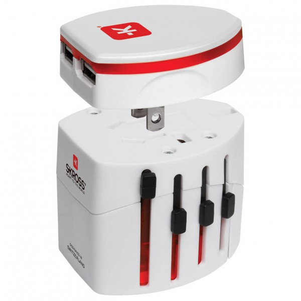 Skross - World Travel USB - Adaptateur de prise