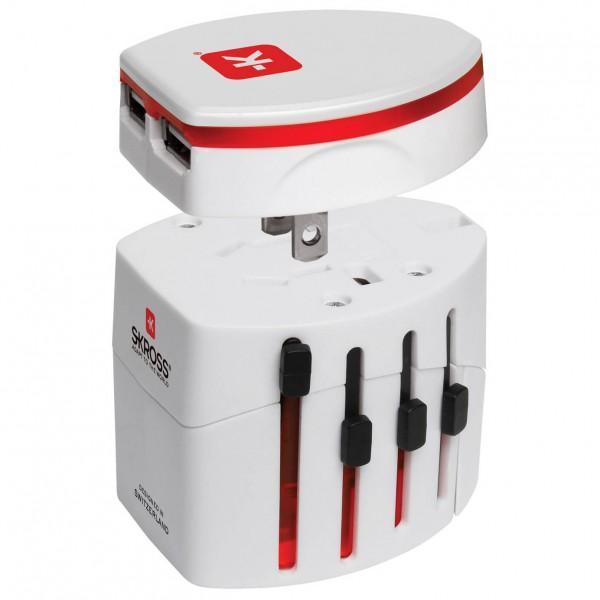 Skross - World Travel USB - Steckeradapter