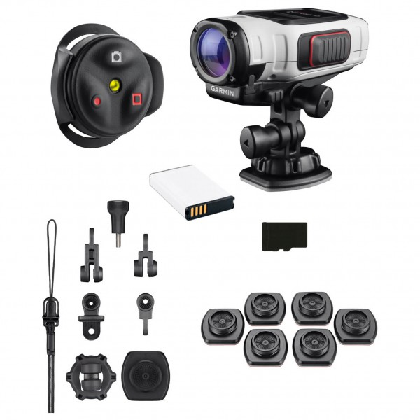 Garmin - VIRB Elite Power Bundle - Camera