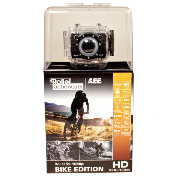 Rollei - Action Camera Rollei 5S 1080p Bike Edition - Caméra