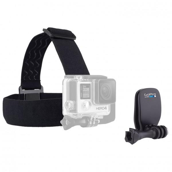 GoPro - Headstrap + Quickclip - Camera mount