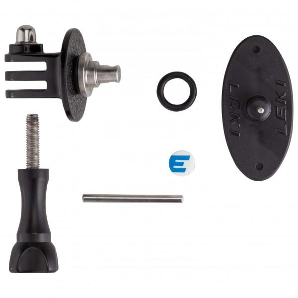 Leki - GoPro TM Compatible Adapter Komplett Montiert