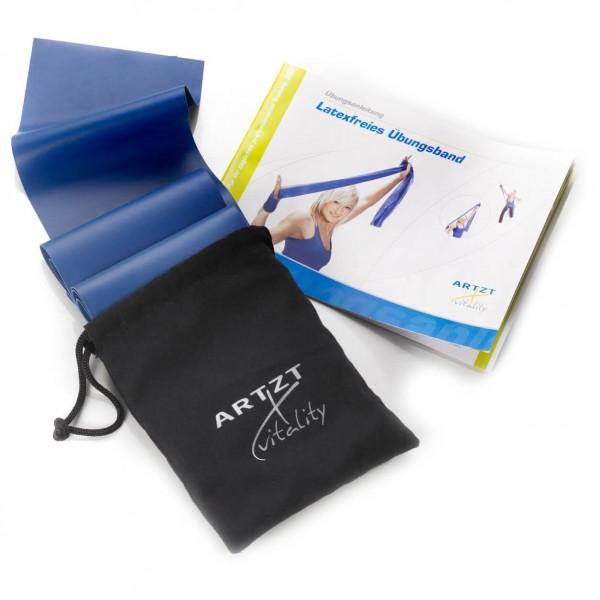 ARTZT vitality - Latexfree 2.5 m mit Aufbewahrungstasche - Fitnessband