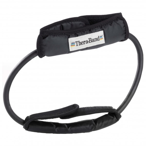 Thera-Band - Tubing Loop mit gepolsterten Manschetten - Jumppanauhat