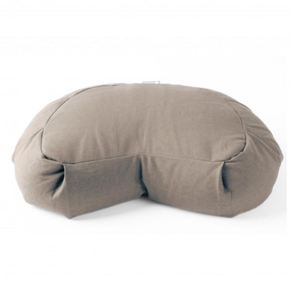 Halfmoon - Crescent Meditation Cushion Essential Cotton Coll. - Yogapuder