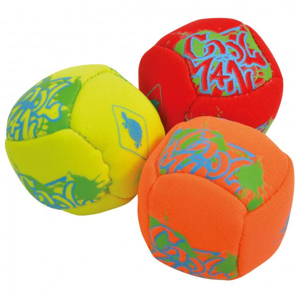 Schildkröt - Neopren Mini-Fun-Bälle (Footbags)