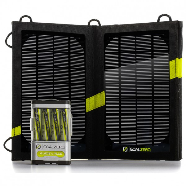 Goal Zero - Guide 10 Plus Solar Recharging Kit - Solpanel