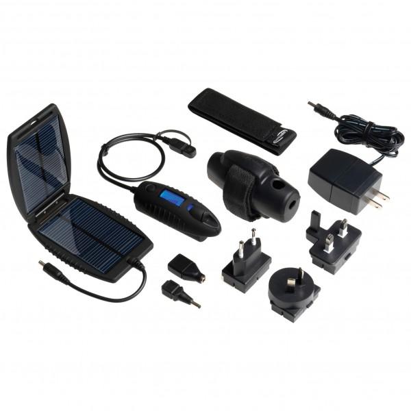 Garmin - Power Traveller Akkupack inkl. Solarpanel - Genopladeligt batteri