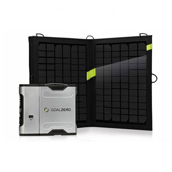 Goal Zero - Sherpa 50 Solar Rech. Kit+Invert. - Solcellepanel