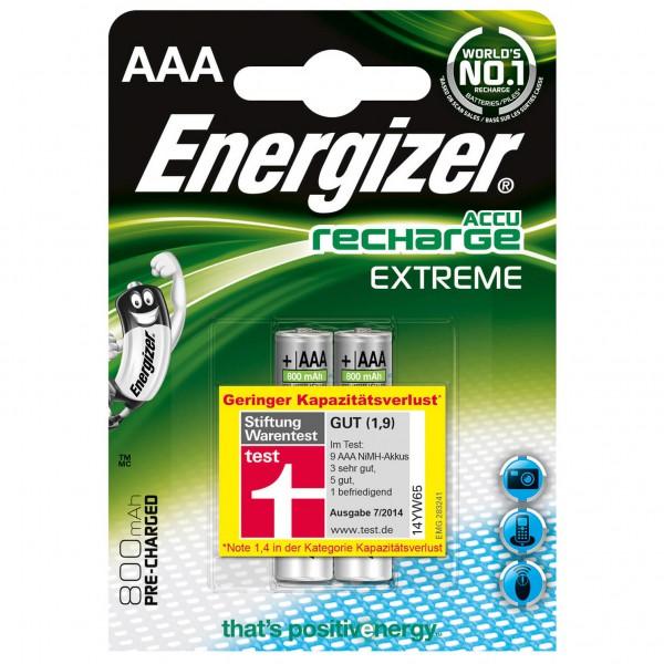 Energizer - Akku Extreme HR03-AAA-Micro 800 maH 2er Blister