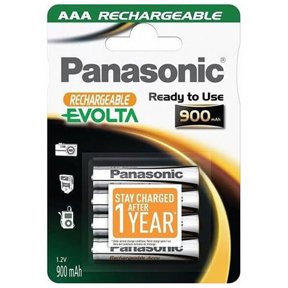 Panasonic - Evolta NiMH AAA Micro 800 mAh P03P R2U 4er