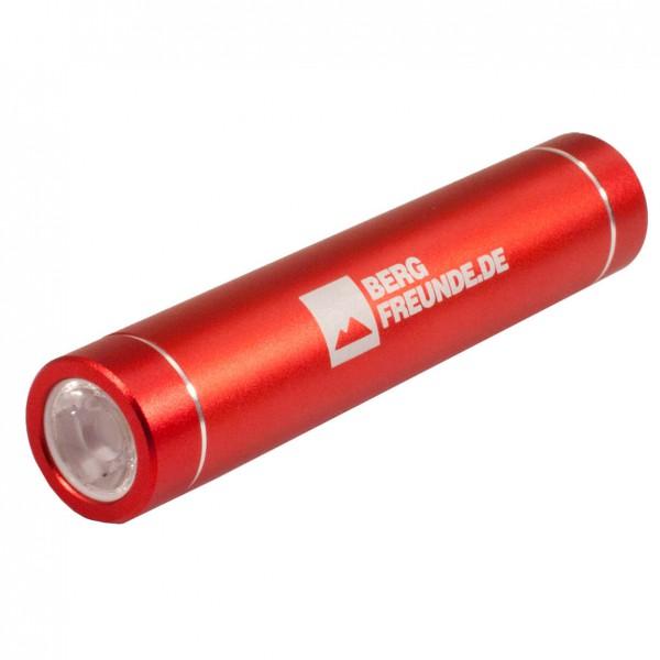 Tobra - Powerbank Taschenlampe Bergfreunde Edition