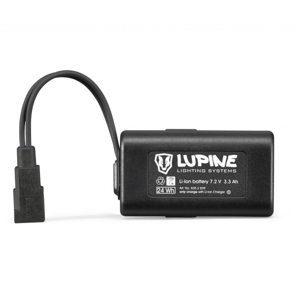 Lupine - 3.3 Ah Hardcase Fastclick - Rechargeable battery
