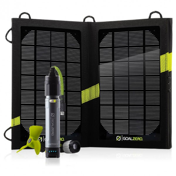 Goal Zero - Switch 10 Kit Solar Recharging Kit - Solarpanel
