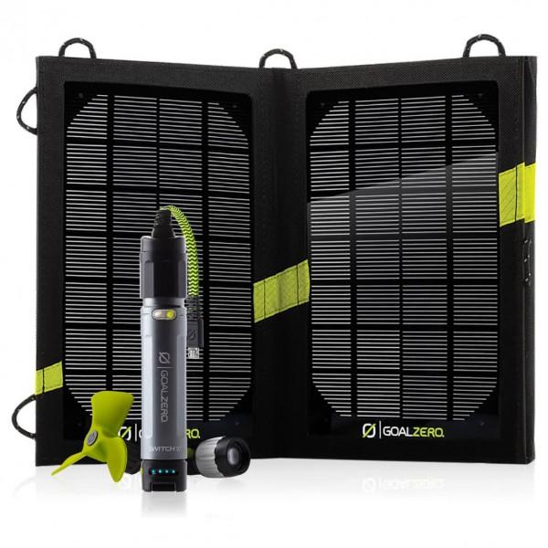 Goal Zero - Switch 10 Kit Solar Recharging Kit - Solar panel