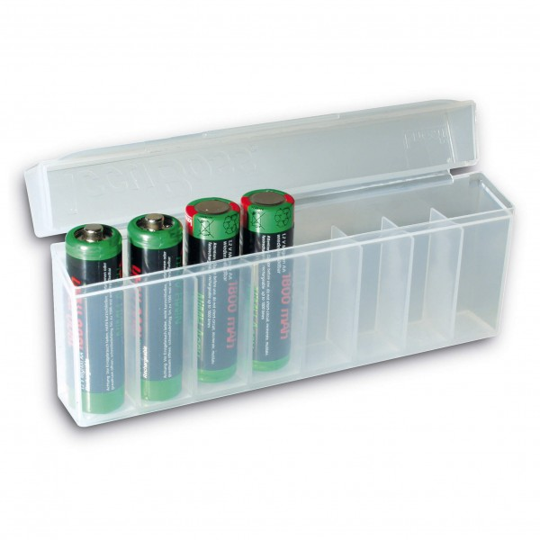 Basic Nature - Akku-Box für 8 Akkus/Batterien