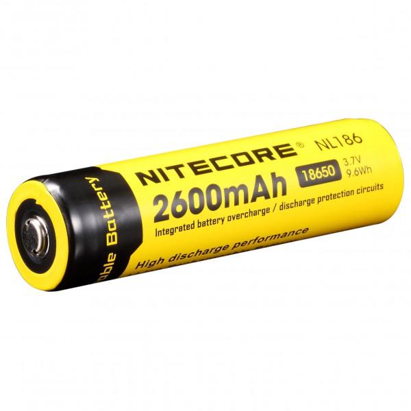 Nitecore - Li-Ion Akku 18650 2600 mAh - Accu