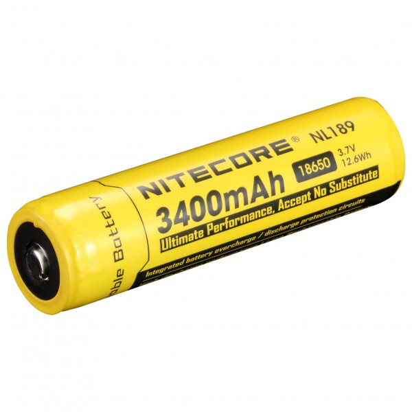 Nitecore - Li-Ion Akku 18650 3400 mAh - Rechargeable battery