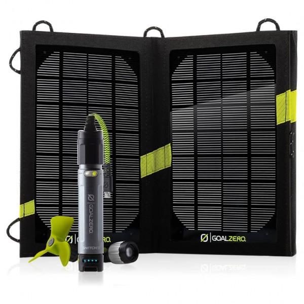 Goal Zero - Switch 10 Solar Rech. Kit Micro-USB
