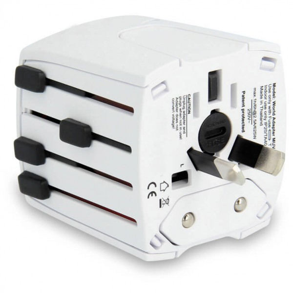Lifeventure - World Travel Adaptor