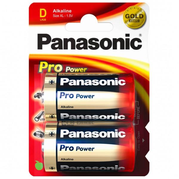 Panasonic - Alkaline Batterien 'Pro Power' Monozelle