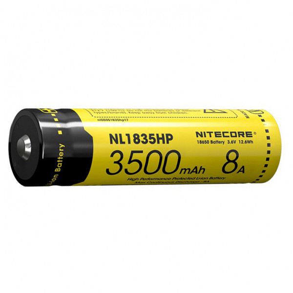 Nitecore - 18650 Li-Ion Akku 3500