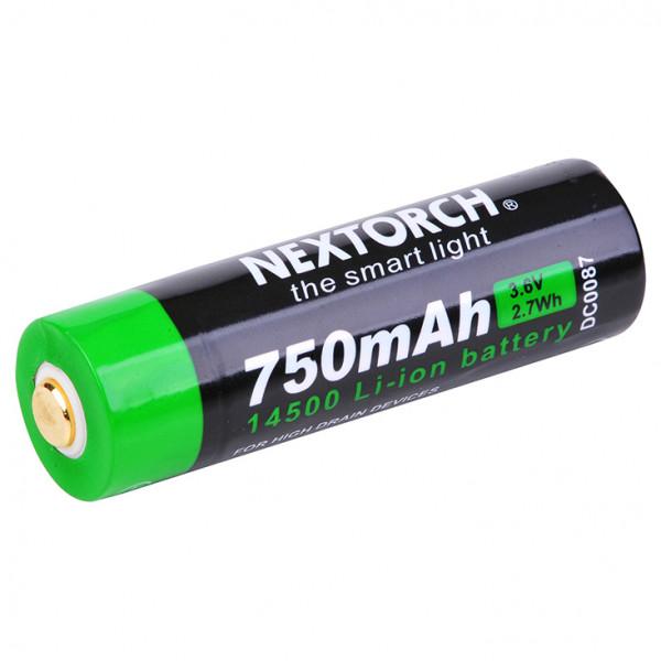 Nextorch - Akku 14500 USB