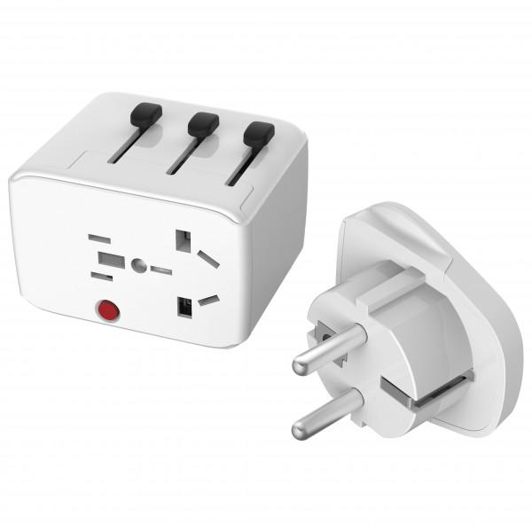 USB World Travel Adaptor - Plug adapter