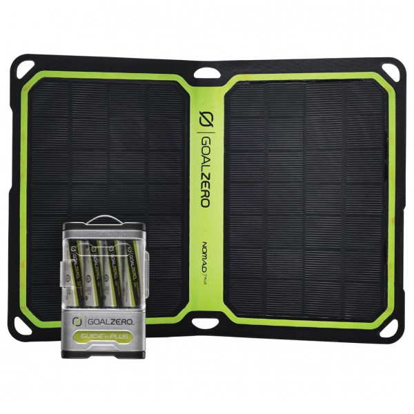 Goal Zero - Guide 10 Plus Solar Kit Nomad7+