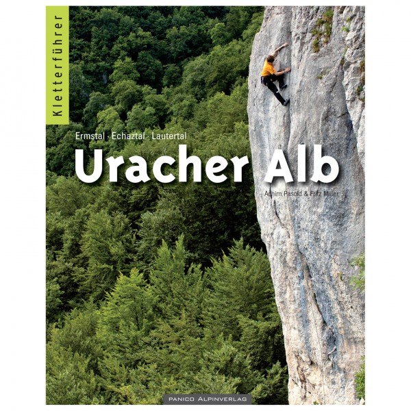 Panico Alpinverlag - ''Uracher Alb'' Kletterführer - Klätterförare