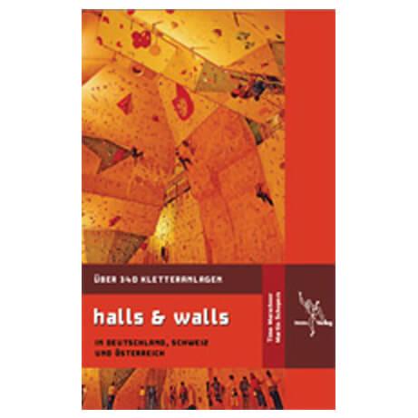 tmms-Verlag - 'Halls & Walls' Kletterhallenführer - Kletterführer