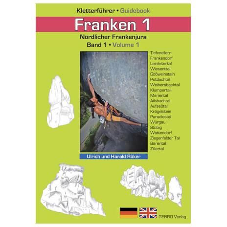 """Gebro-Verlag - """"Franken 1"""" - Kletterführer"""