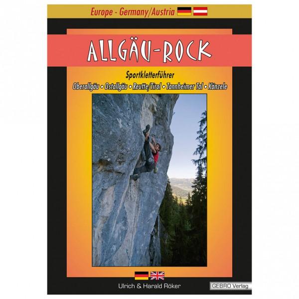"Gebro-Verlag - """"Allgäu Rock"""" - Climbing guides"