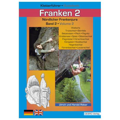 """Gebro-Verlag - """"Franken 2"""" Auflage 1 - Kletterführer"""
