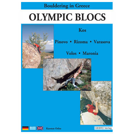 Gebro-Verlag - Olympic Blocs - Bouldering guides