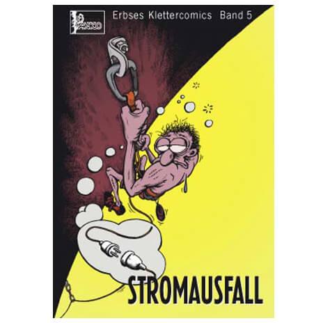 "Panico Alpinverlag - """"Stromausfall"""" Klettercomic"