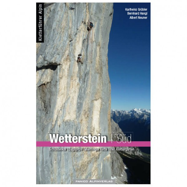 Panico Alpinverlag - Kletterführer Wetterstein Süd