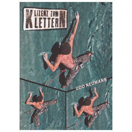"""Udini Verlag - """"Lizenz zum Klettern"""" Trainingslehrbuch"""