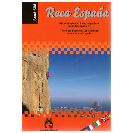 Lobo Plus - ''Roca Espana'' Kletterführer Band Süd - Climbing guide
