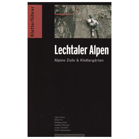 Panico Alpinverlag - ''Lechtaler Alpen'' Kletterführer - Klatreguides
