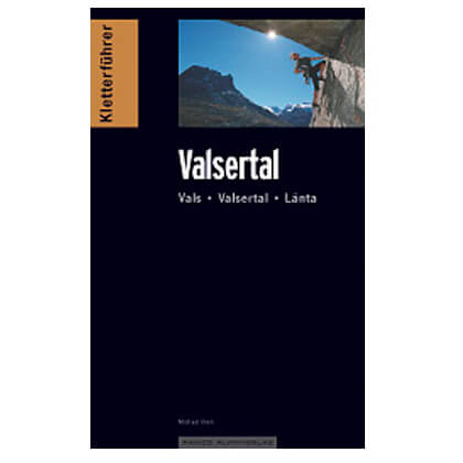 Panico Alpinverlag - ''Valsertal'' Kletterführer - Klatreguide